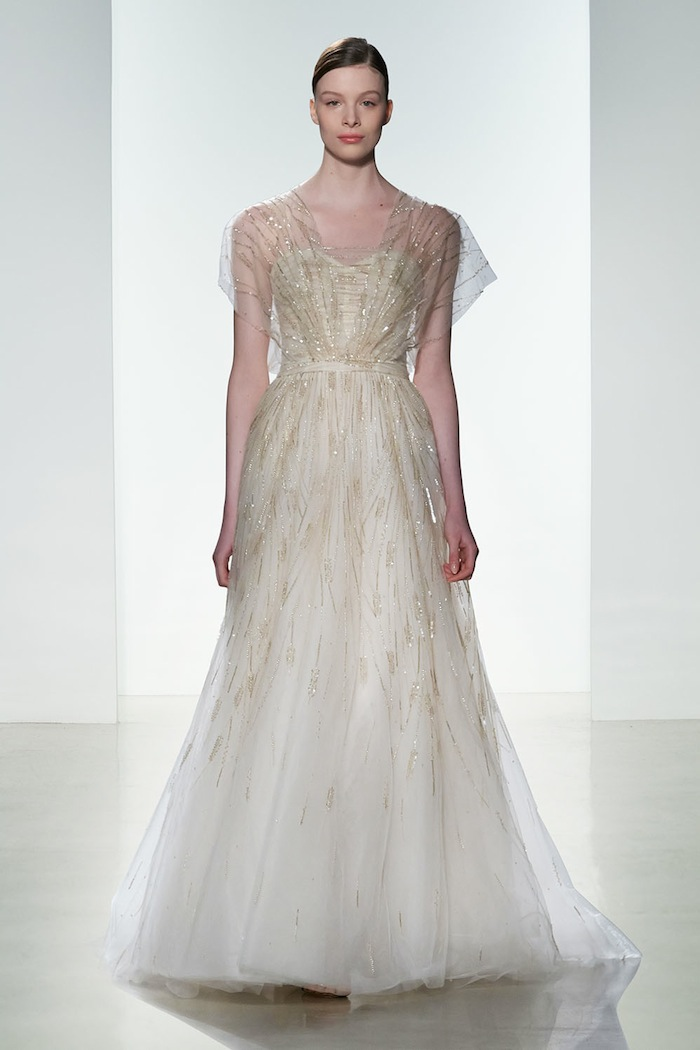vowslovedress most beautiful sleeved wedding dresses year