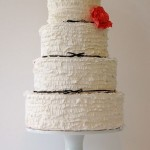 10 simple chic white wedding cakes by Maggie Austin