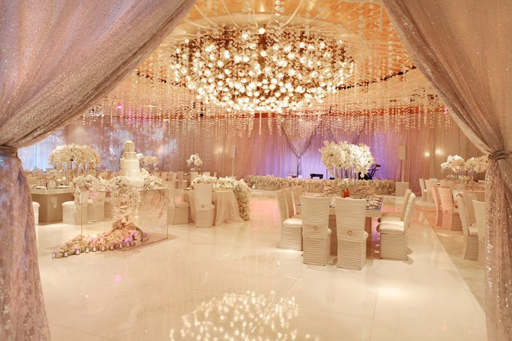 A spectacular beverly hills hotel wedding for Asian wedding decoration hire