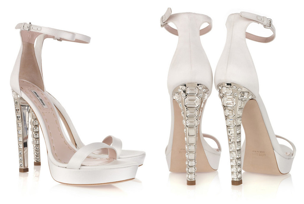 Wedding Shoes Bling Up Your Feet With These Eye Catching Heels