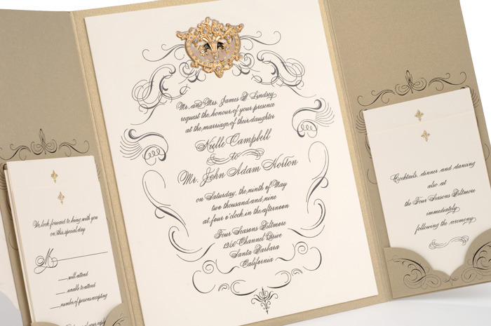 More On Incredibly Gorgeous Couture Wedding Invitations ... Photo Gallery
