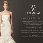 VERA WANG FALL 2013 BRIDAL COLLECTION