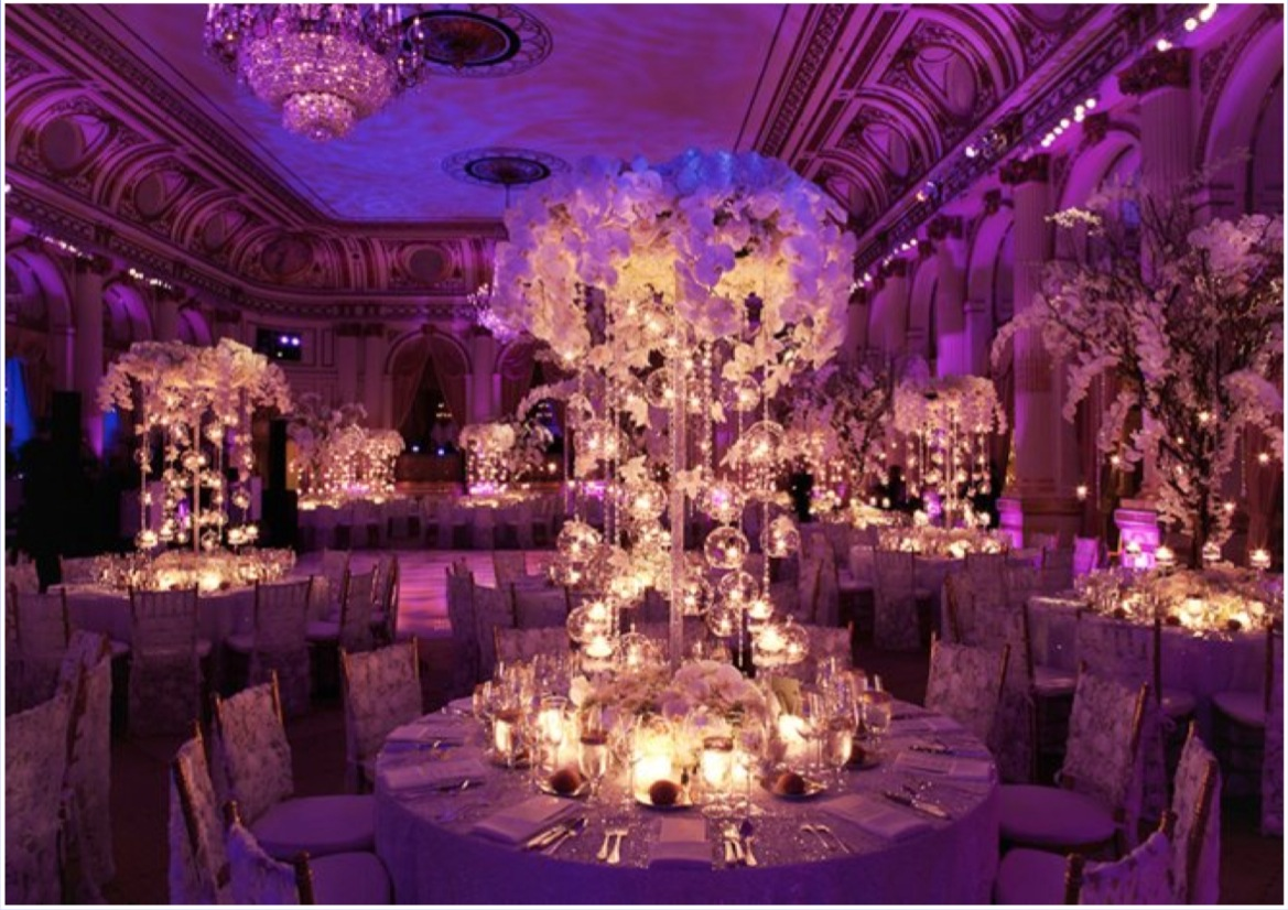 Candle centerpieces they make for the perfect romantic combination