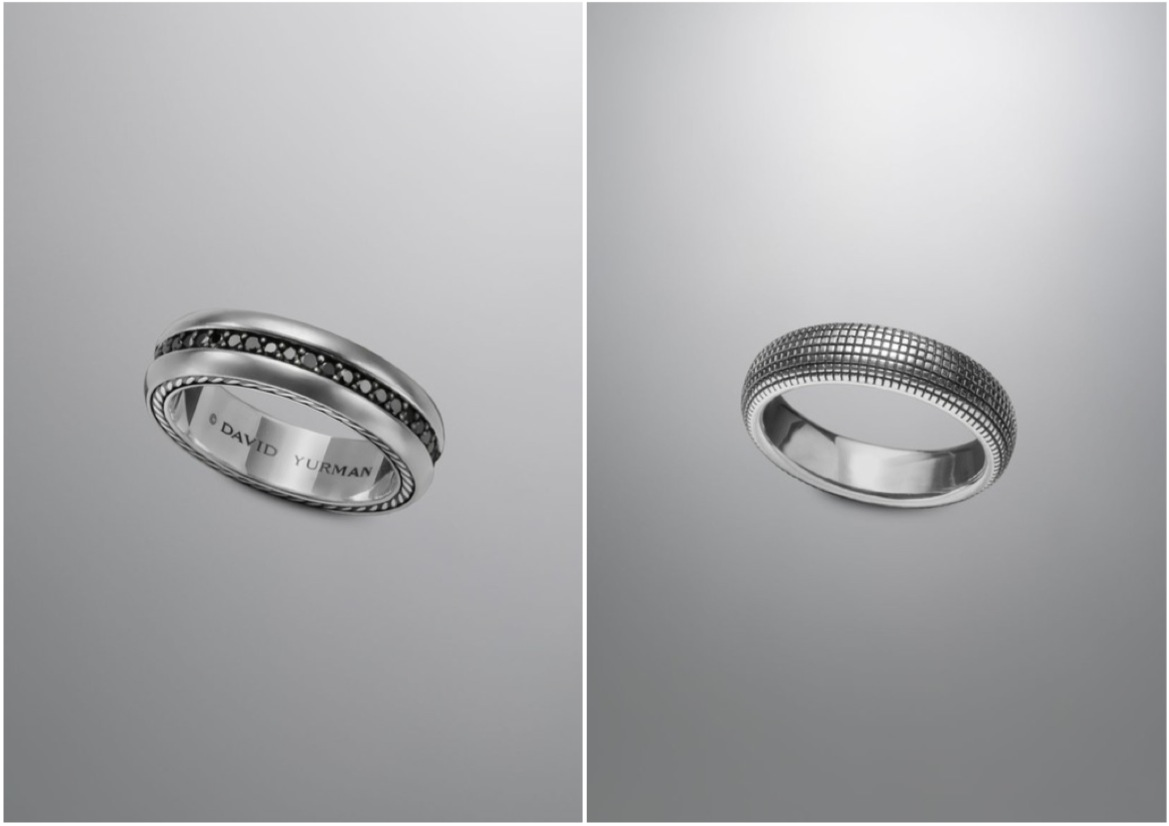 Merveilleux Yurmanu0027s Collection Of Wedding Bands For Men Have An Edge Of Masculinity  That We Adore. With A Few Added Diamonds To Surround These Classic Pieces,  ...