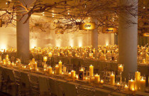 Wedding Reception Ideas: The Magic of Candlelight