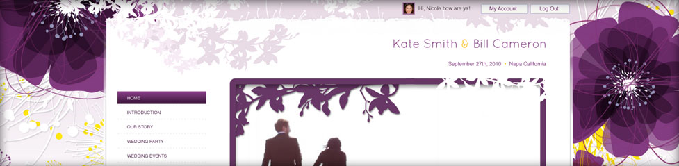wedding-website-purple