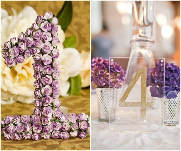Wedding Reception Ideas Table Numbers
