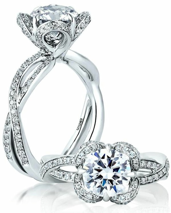 jaffe engagement rings for every era modwedding
