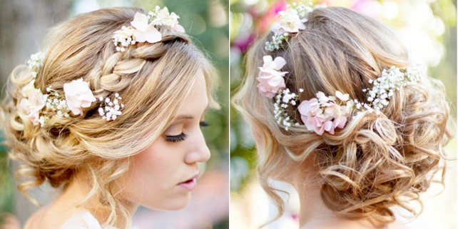 Admirable A Romantic Bohemian Wedding Hairstyle Modwedding Hairstyle Inspiration Daily Dogsangcom