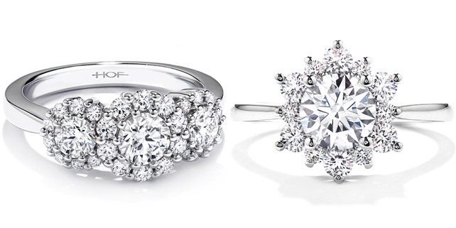 Brilliant Hearts on Fire Engagement Rings