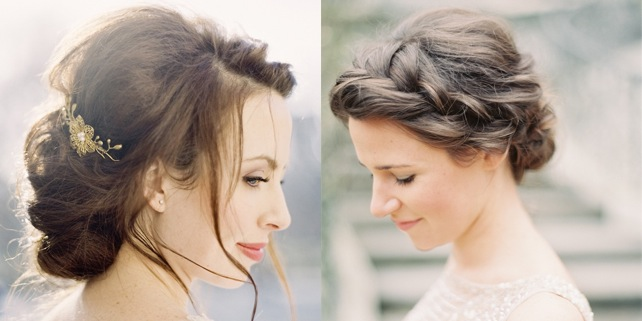 Romanticism Displayed in a Romantic Wedding Hairstyle