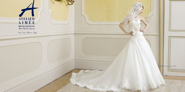 One-of-a-Kind Glamorous Atelier Aimee Wedding Dresses