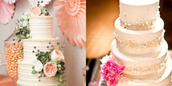 Classic Wedding Cakes with a Modern Twist