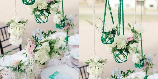 Creatively Cute Wedding Centerpieces