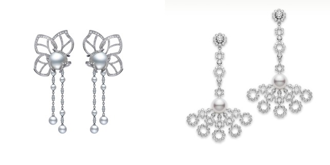 Classic Mikimoto Earrings for Your Wedding Day