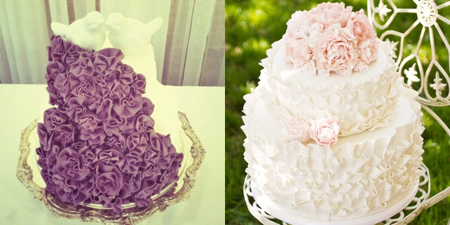 Trendsetting Ruffled Wedding Cakes You Must See