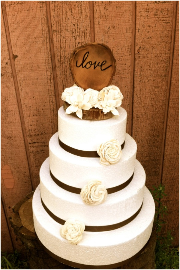 rustic country wedding cake toppers cute and chic rustic wedding cake