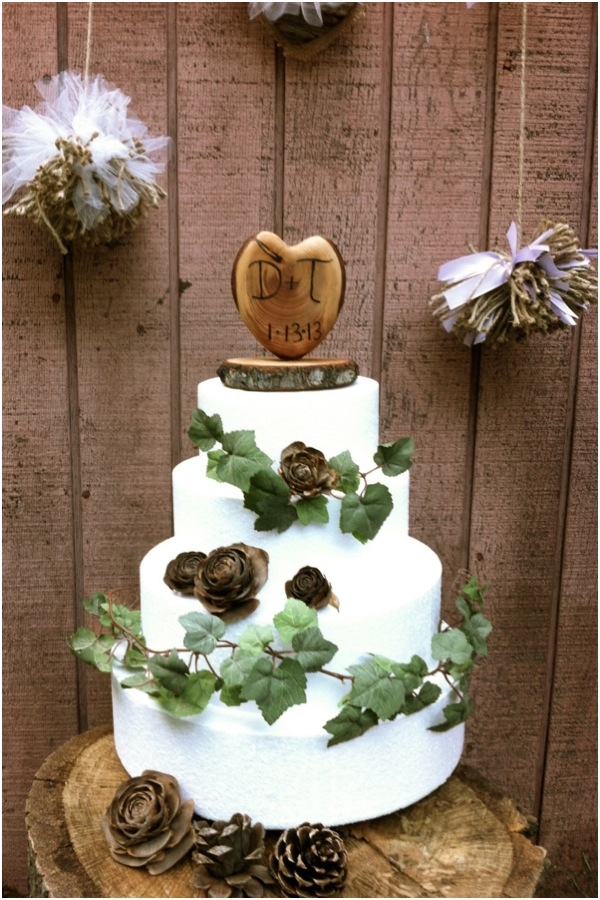 rustic barn wedding cake topper the gallery for gt brown 19486