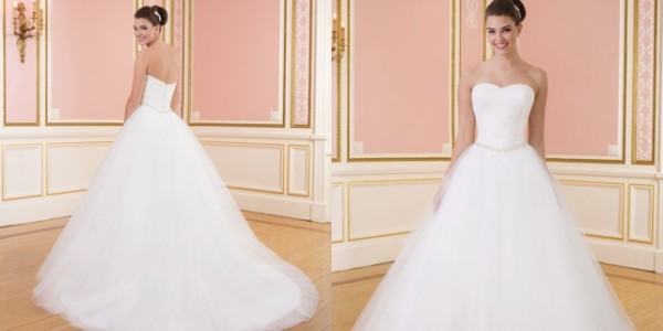Sophisticated Sweetheart Gowns Wedding Dresses 2014