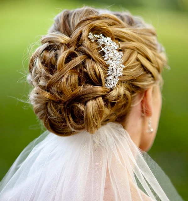 Excellent Romantic Low Bun Wedding Hairstyles We Heart Modwedding Hairstyle Inspiration Daily Dogsangcom