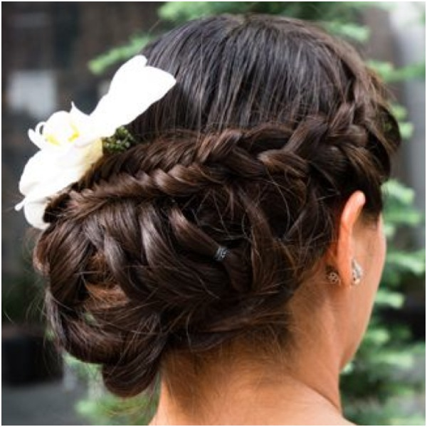 Groovy Romantic Low Bun Wedding Hairstyles We Heart Modwedding Short Hairstyles For Black Women Fulllsitofus