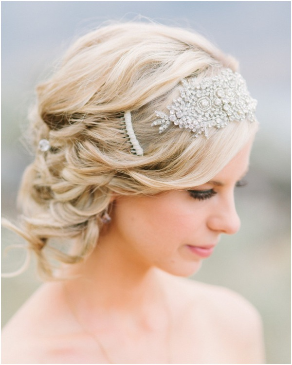Tremendous Romantic Low Bun Wedding Hairstyles We Heart Modwedding Short Hairstyles Gunalazisus