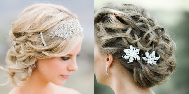 Terrific Romantic Low Bun Wedding Hairstyles We Heart Modwedding Short Hairstyles Gunalazisus