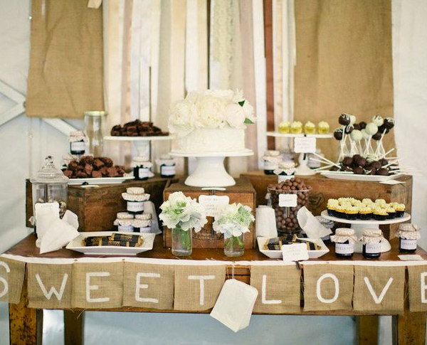 Wedding Dessert Table Ideas Photo