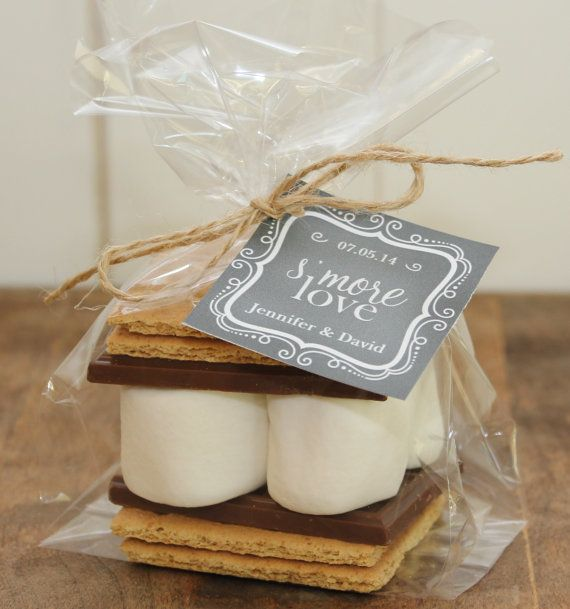 Wedding Gift Etiquette Late : ... your guests s more love with these s mores wedding favor kits