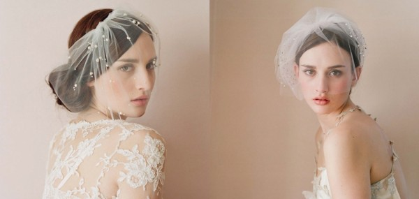 Decorate Your Wedding Hairstyle with a Handmade Veil