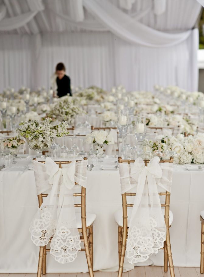 All White Wedding Ideas grand navokalcom