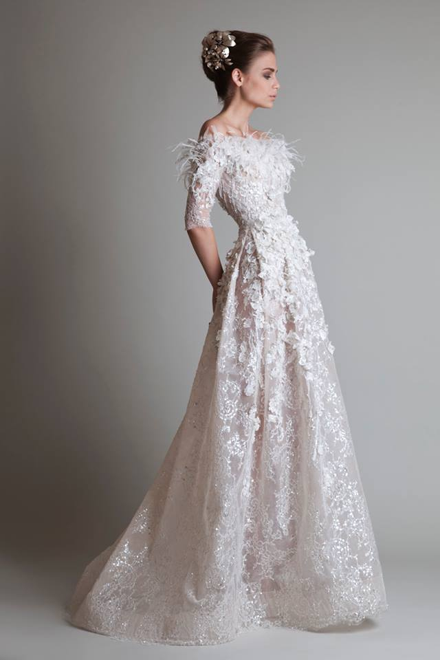 5 Timeless Wedding Dresses from Krikor Jabotian - MODwedding