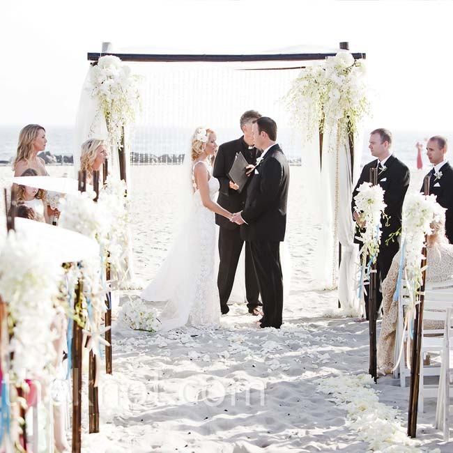 Beach Wedding Ceremony Europe: Chic Beach Wedding Ceremony Ideas