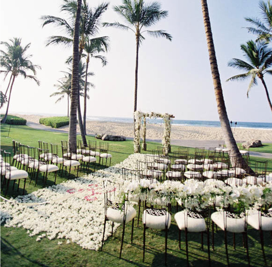 Belongil Beach Wedding Ceremony: Chic Beach Wedding Ceremony Ideas
