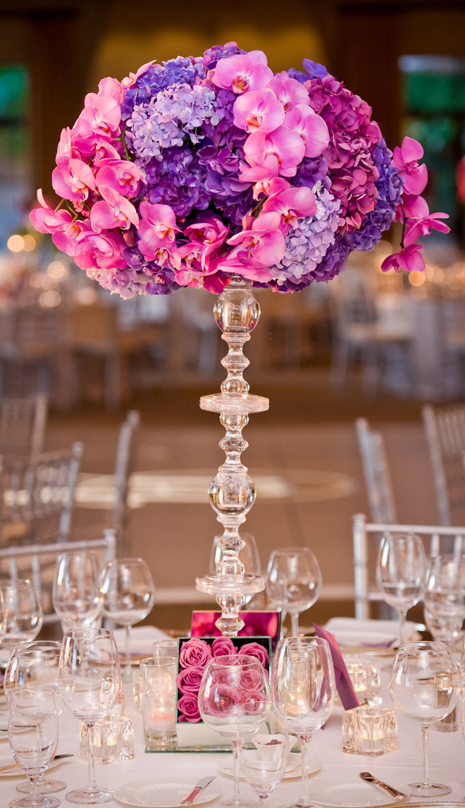 spectacular wedding centerpiece decor ideas  modwedding, Beautiful flower