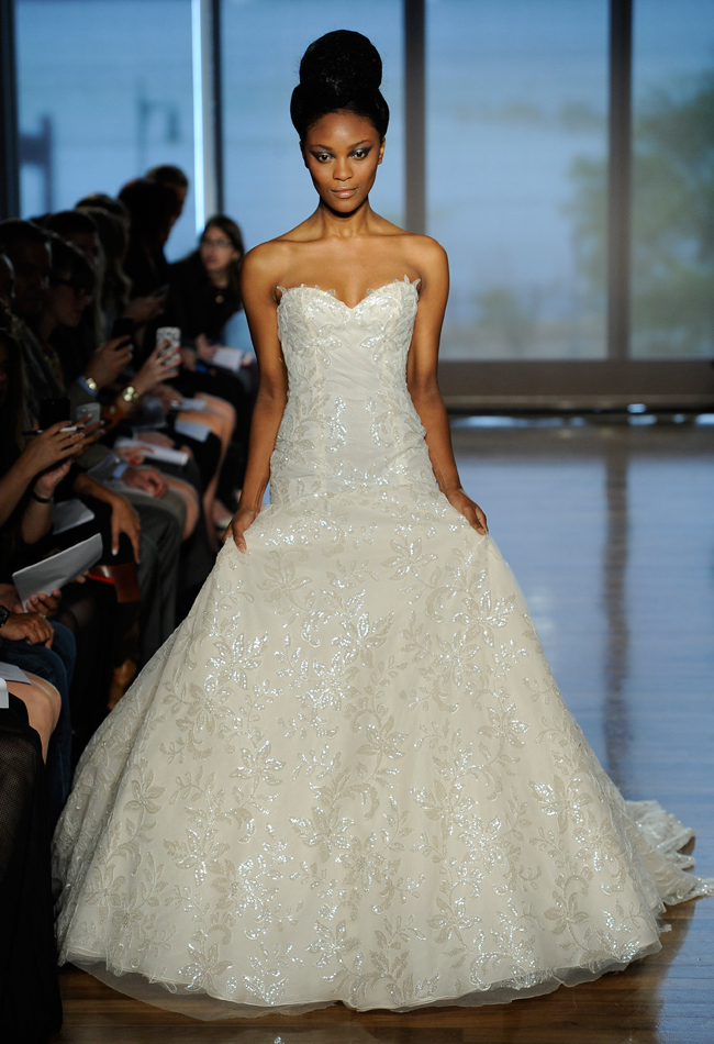 Flowers ines di santo wedding dresses spring 2014 collection is what