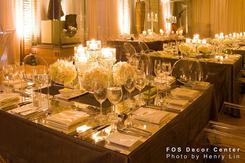 Get Inspired Creative Wedding Reception Ideas from FOS Decor