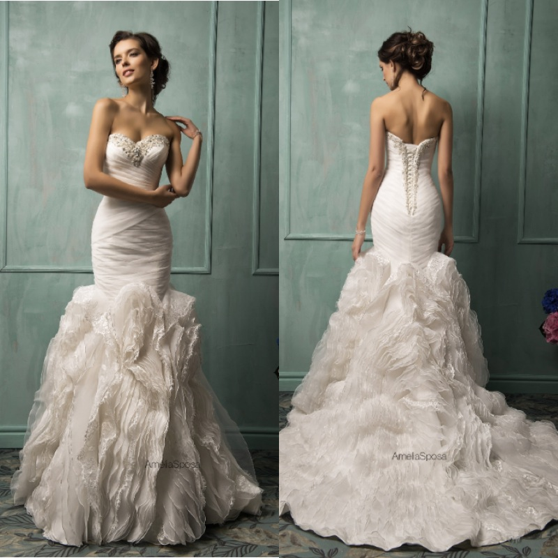 wedding dresses 2014 collection are ideal for the modern bride with a