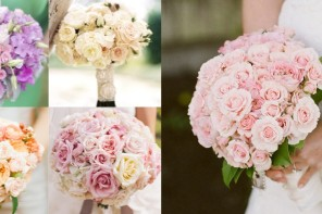 Get Inspired: Soft Romantic Bridal Bouquet Ideas