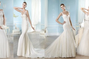 Trend Alert: St. Patrick Wedding Dresses 2014