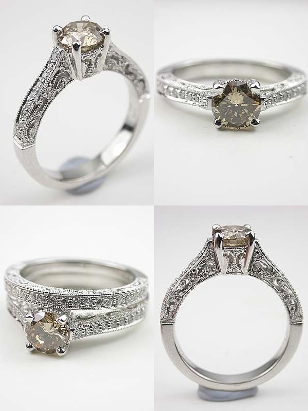 topazery engagement rings 1 123113 - Antique Style Wedding Rings