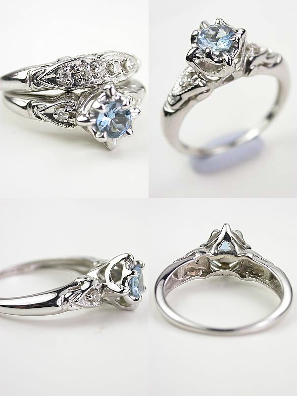 topazery engagement rings 15 123113 - Horseshoe Wedding Rings