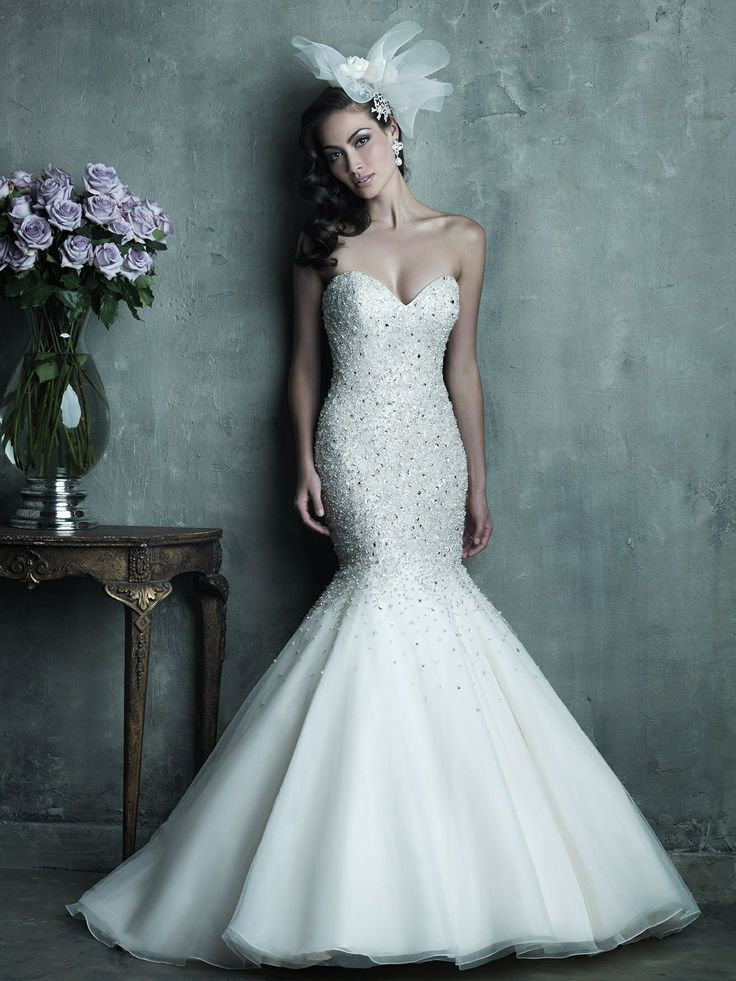 Drop-Dead Gorgeous Allure Bridals Wedding Dresses - MODwedding