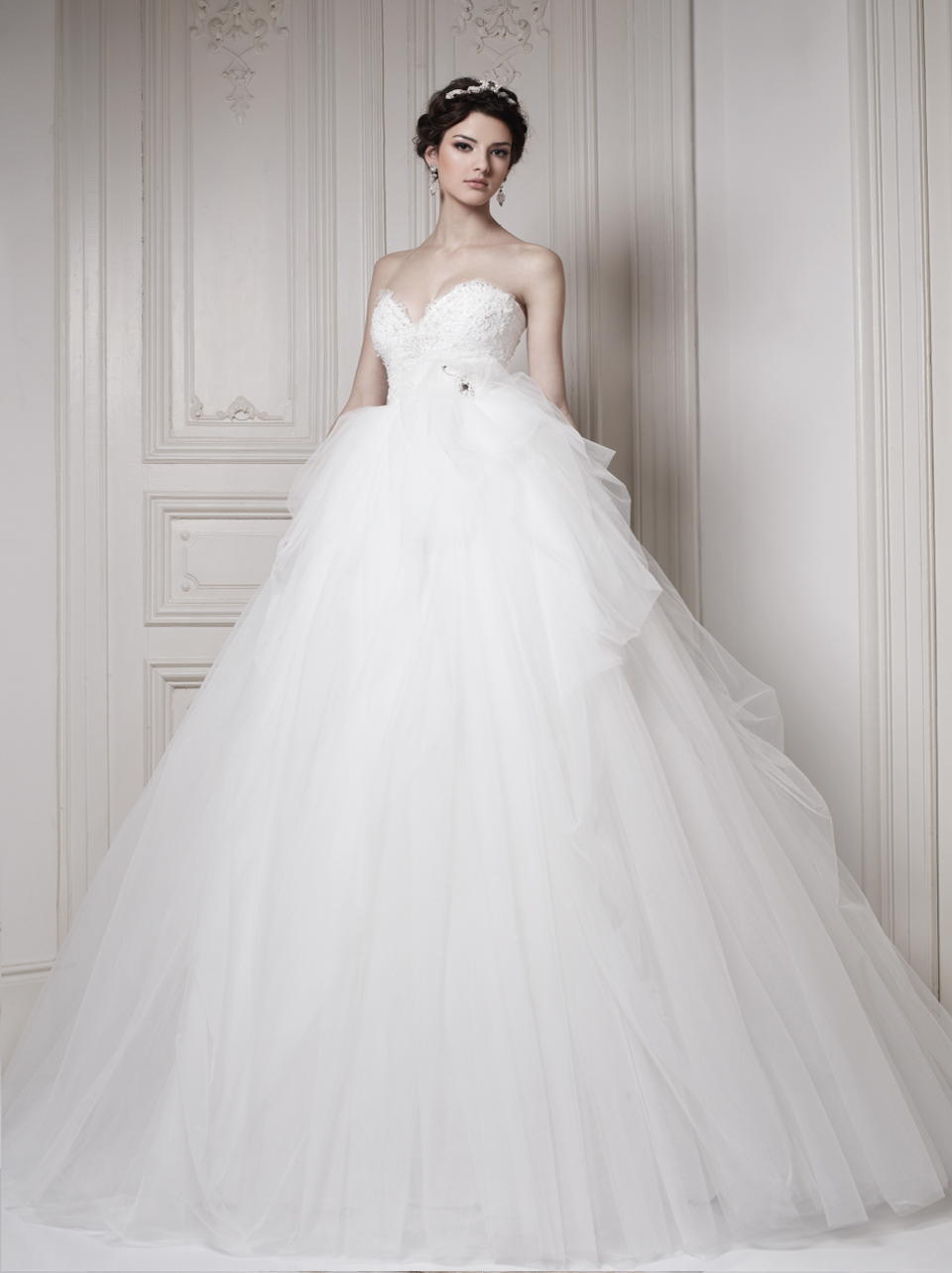Glamorous Ersa Atelier Wedding Dresses 2014 Collection - MODwedding