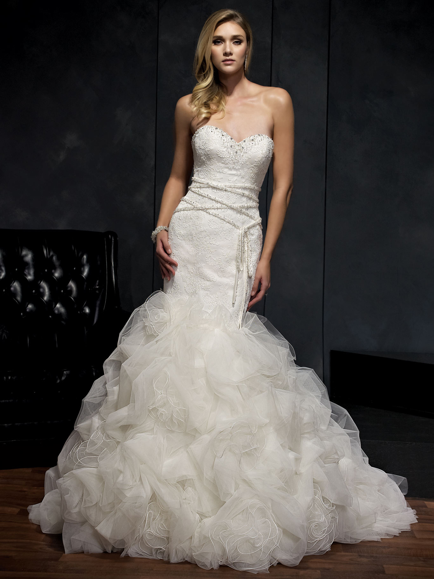 all eyes on you in an elegant kenneth winston wedding With kenneth winston wedding dress