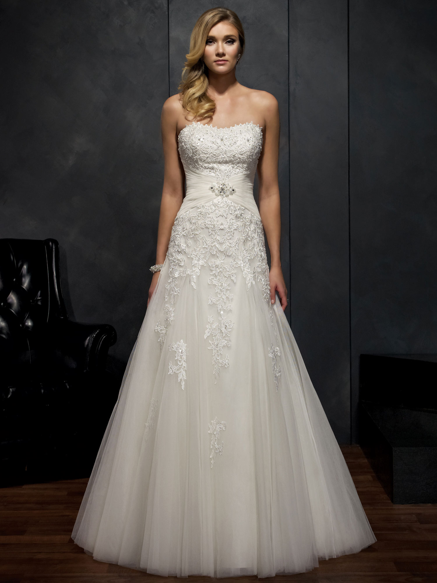 all eyes on you in an elegant kenneth winston wedding With kenneth winston wedding dresses