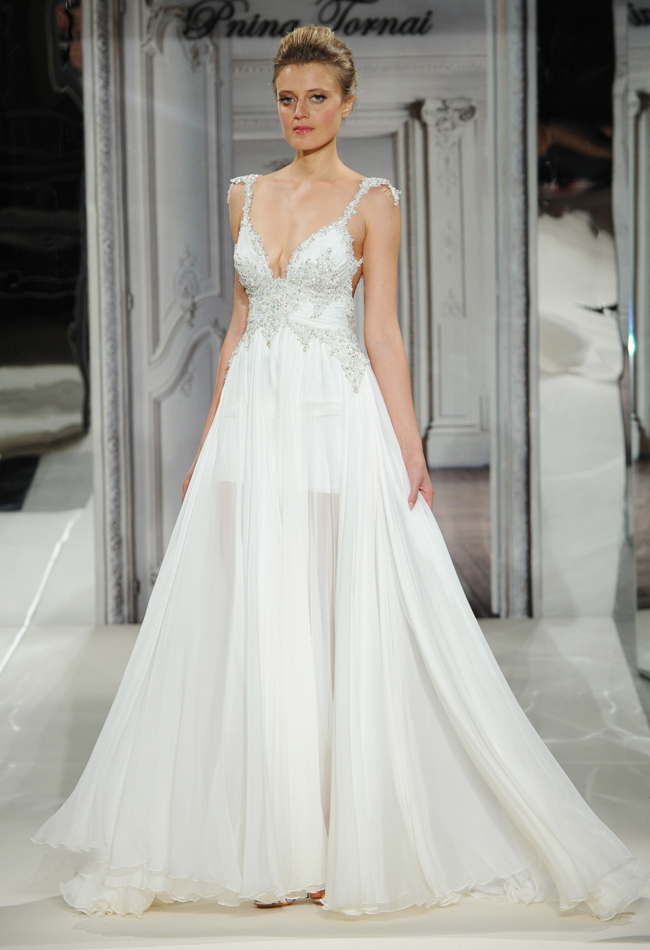 Daring and Sexy Pnina Tornai Wedding Dresses Spring 2014 - MODwedding