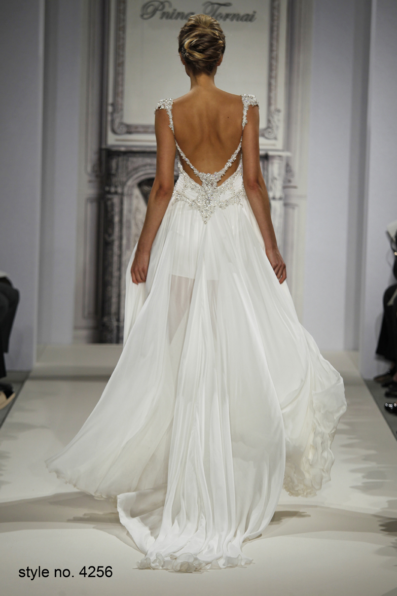 Daring And Sexy Pnina Tornai Wedding Dresses Spring 2014