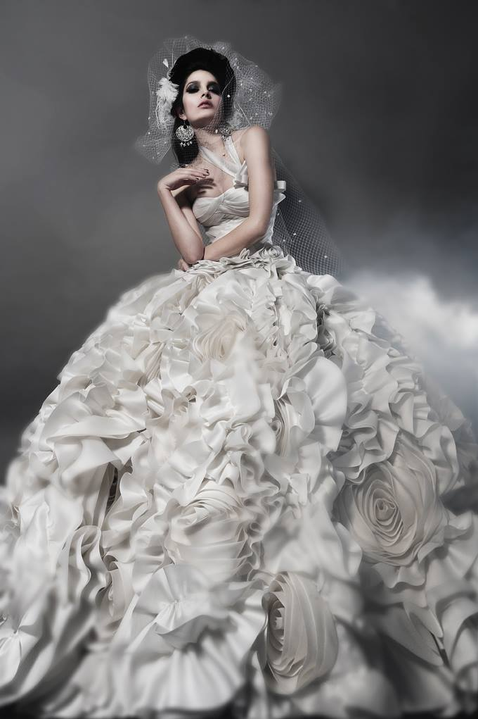 Daring and sexy pnina tornai wedding dresses spring 2014 modwedding