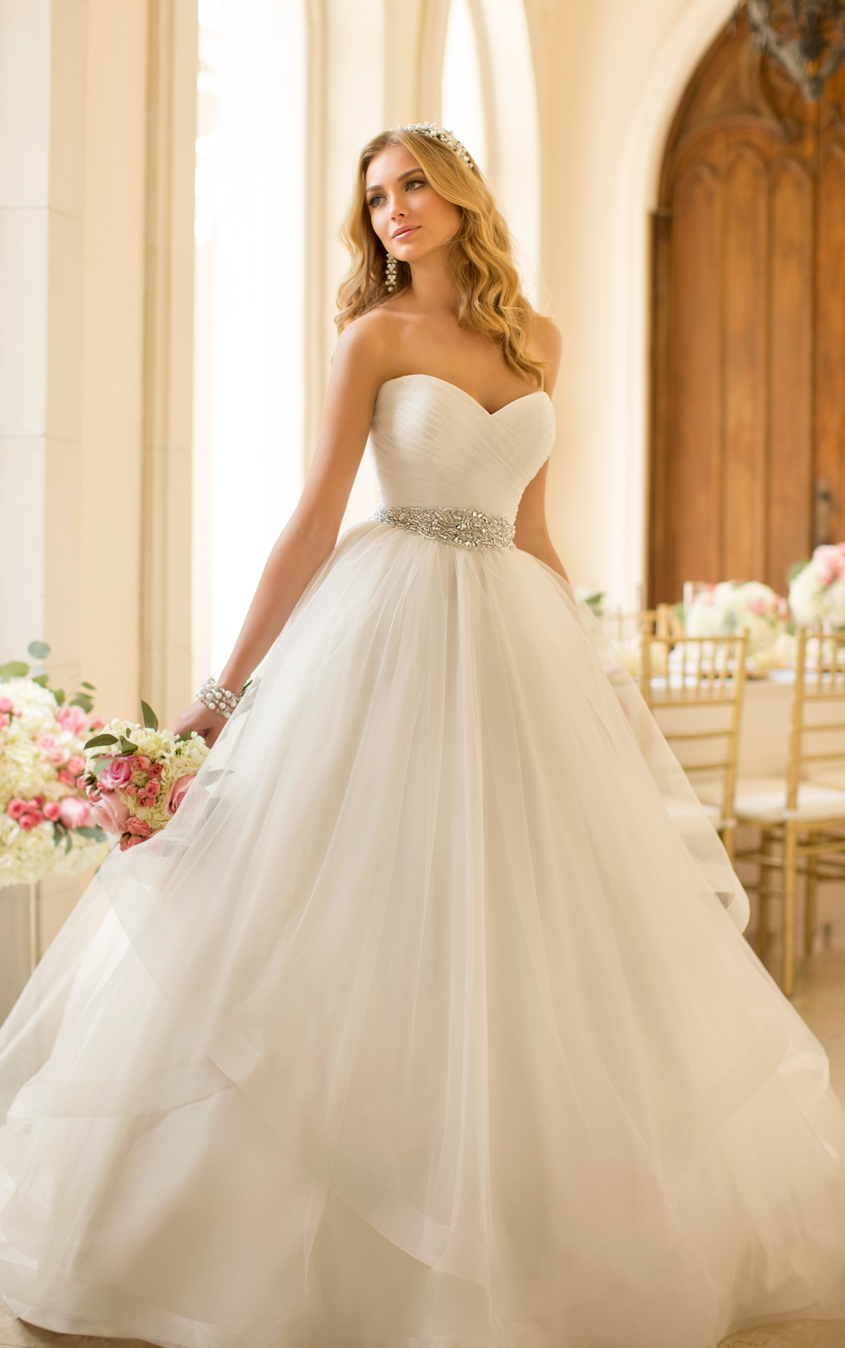 Extravagant Princess Wedding Dresses : Glamorous stella york wedding dresses collection